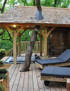 Cabane Spa Puybeton - Treehouses