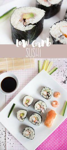 Low Carb Sushi mit Videoanleitung :) www.lowcarbkoestlichkeiten.de
