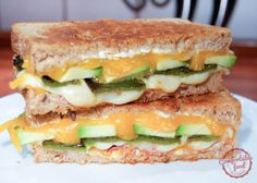 jalapeño popper grilled cheese with avocado and bacon