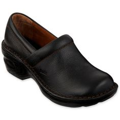 Bolo® Andria Womens Leather Clogs found at  JCPenney Leather Clogs, Black  Leather, 167e0cba0f