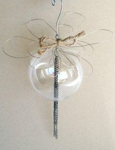 Anthro Inspired Wire Ornament- Pictured {TUTORIAL} | I Heart Nap Time - Easy recipes, DIY crafts, Homemaking
