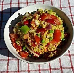 Bulgur zöldségekkel, ha unod a sültkrumplit Ratatouille, Quinoa, Foods, Ethnic Recipes, Kitchen, Bulgur, Food Food, Food Items, Cooking