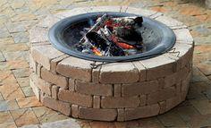 Wat is er nu gezelliger dan een eigen vuurplaats in je tuin.