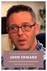 John Edward Changed My Life: A Real Medium or Epic Fake? John Edwards, Psychics, Psychic Mediums, Spiritual Life, Change My Life, Coaching, Author, Messages, Gift