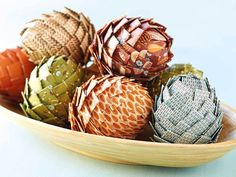 Paper Pinecone Parade Make It from Your Heart by Close To My Heart  Bring the woods into your home this holiday season by creating your own whimsical paper pinecones