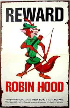 Robin Hood posters for sale online. Buy Robin Hood movie posters from Movie Poster Shop. We're your movie poster source for new releases and vintage movie posters. Disney Magic, Disney Art, Walt Disney, Disney Ideas, Disney Stuff, Robin Hood 1973, Robin Hoods, Disney Posters, Movie Posters