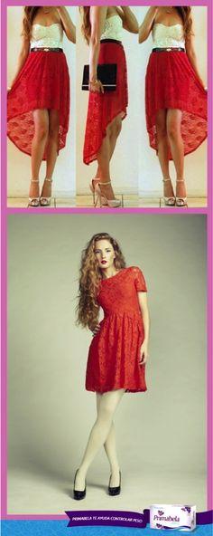 Elegante o fresca, cualquier estilo es el ideal para vos ;)  #Dresses #DressBeauty #red #fashion #moda