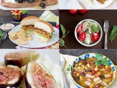 16 Simple and easy vegetarian recipes for August   http://www.treehugger.com/easy-vegetarian-recipes/16-simple-and-easy-vegetarian-recipes-august.html