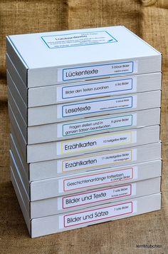 Lernstübchen: Kisten, Kästen und Regalsysteme .....