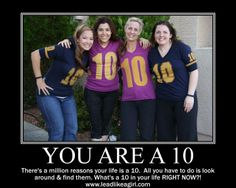 You Are A 10