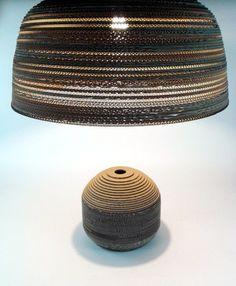 Jasna 70 - 4 lampa z kartonu,  Cardboard furniture, meble z tektury, eko, ekologiczne, diy, zrób to sam, cardboard lamp