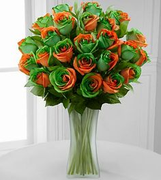 Rainbow roses from FTD provide a burst of color for your vibrant loved one  Add a special touch with roses bought with quick same day delivery from FTD