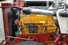 1693 Balls to the wall. Big Rig Trucks, Dump Trucks, Old Trucks, Peterbilt 359, Peterbilt Trucks, Custom Big Rigs, Custom Trucks, Small Diesel Generator, Cat Engines