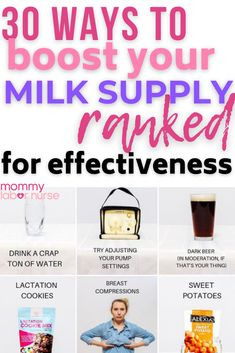 Wondering how to increase milk supply FAST? You, mama, are in the right place! You see, I struggled a lot with low supply when I was breastfeeding my first baby (more on that below). I tried SO MANY THINGS to get my milk supply up, and I'm happy to share with you EVERY SINGLE ONE I TRIED to boost my supply.