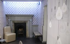 We loved using lightbulbs in this project for a new trendy hair salon in bewdley, worcestershire