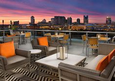 Up Rooftop Lounge | The Gulch, Nashville, TN