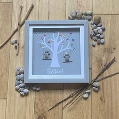 Sisters My Best Friend Sisterhood Pebble Art   Etsy Gifts For Your Sister, Best Friends For Life, Pebble Art, Natural Materials, Photo Art, I Am Awesome, Art Pieces, Sisters, Presents