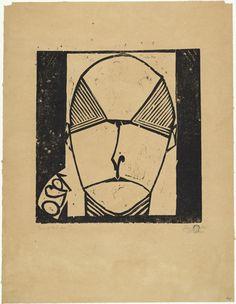 Ewald Mataré (German, 1887–1965) Portrait of Dr. Scholz (Bildnis Dr. Scholz)