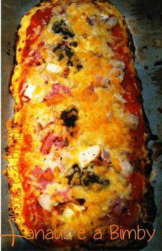 Xanaus e a Bimby: Piza com Base de Courgette - A Dieta dos 31 Dias com a Bimby