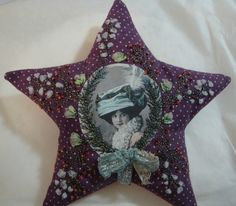 I ❤ embroidery . . . Star ~By Treasures Nath