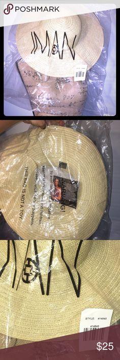 Iman sun straw hat NWT Iman sun straw hat NWT Accessories Hats