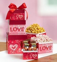 A little bit of love in every bite! Enjoy our 3-box Happy Valentine's Day Chocolate Sweets only $29.99!