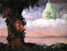 Rene Magritte - Alice au pays des merveilles (1946)