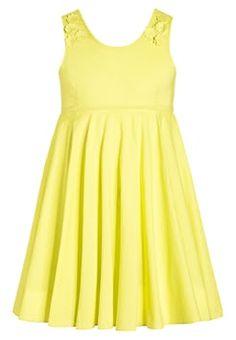 Benetton - Korte jurk - yellow