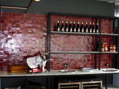 Restaurant La Place Rouge - Le Kremlin Bicêtre - Décor en zelliges