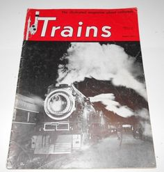 Trains Magazine Back Issue August 1950 Volume 10  Number 10          4079