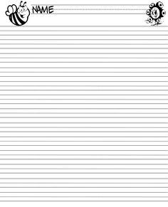 009 Printable Handwriting Paper New Calendar Template Site
