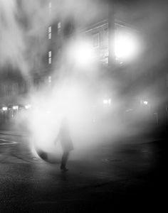 Mist, rain, light.