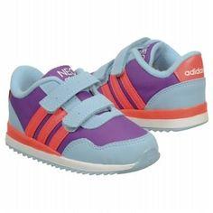 adidas Neo V Jog Sneaker Toddler Rayprpl/Redzest/Blue