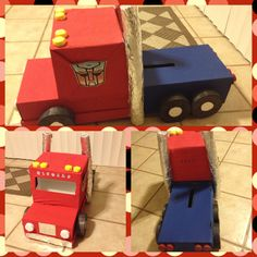Optimus prime / Valentines day box