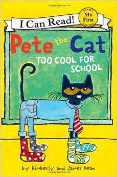 Unable to decide which outfit will make him look cool at school, Pete the Cat considers the many colorful choices in his wardrobe before discovering that it is not what he wears, but how he wears his clothes that makes him cool.