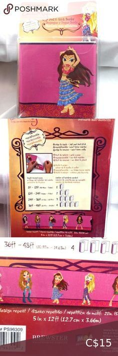 I just added this listing on Poshmark: Brewster Bratz Doll Wallpaper Border. #shopmycloset #poshmark #fashion #shopping #style #forsale #Brewster #Other Bratz Doll, Dolls, Drapery Holdbacks, Design Repeats, Vintage Ceramic, Colorful Decor, Vintage Pink, Shadow Box, Plant Hanger