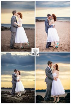 Lauren & Jon Carlos Wedding – Lighthouse Point – New Haven, CT {Fritz Photography}