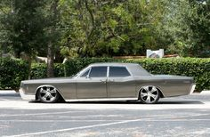 1966 Lincoln Continental Ours is named Angelina and she's black on black. Coming soon.