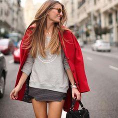 Black and White Skirt - Inspiration
