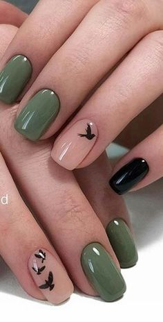 43 Cute Black Nail Art Designs The post 43 Cute Black Nail Art Designs & Nails ^~^ appeared first on Nail designs . Cute Black Nails, Black Nail Art, Pretty Nails, Fun Nails, Black Polish, Black Art, Pink Black, Autumn Nails, Spring Nails