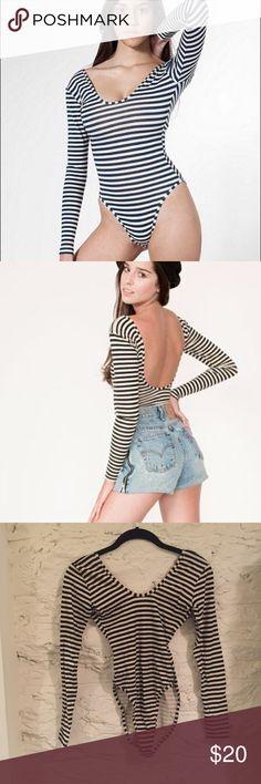 American Apparel stripe bodysuit American Apparel stripe bodysuit American Apparel Other