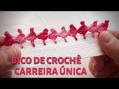 Crochet Edging Tutorial, Crochet Edging Patterns, Crochet Borders, Crochet Stitches, Crochet Baby Shoes, Crochet Lace, Free Crochet, Craft Kits, Diy Craft Projects