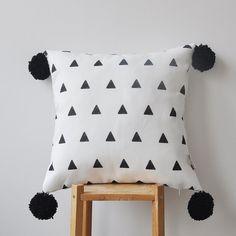 NEW Decorative Geometric Pillow Modern Nursery by LoveJoyCreate