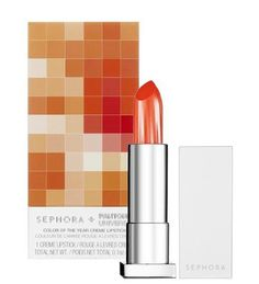 PANTONE Creates Makeup Line. They have teamed up with Sephora to create a makeup line that revolves entirely around PANTONE's 2012 Color of the Year, Tangerine Tango. Orange Lipstick, Lipstick Shades, Lipstick Colors, Lip Colors, Summer Lipstick, Coral Lips, Bright Lipstick, Pantone Universe, Colors For Dark Skin