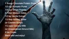 Zombie Protein Shake