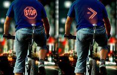 Revoluce v cyklistice? Tahle vychytávka promítá obrázky na vaše záda   TV pořad, časopis a web o aplikacích