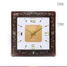 Quartz Square Wall Clock 1