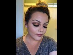Copper Smokey Eye Morphe 35 W Eye shadow Palette - YouTube