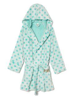 Plush Robe PINK ($59.90 USD) | VIctoria's Secret - PINK Size M/L https://www.victoriassecret.com/pink/shop-all-sleep/plush-robe-pink?ProductID=274379&CatalogueType=OLS