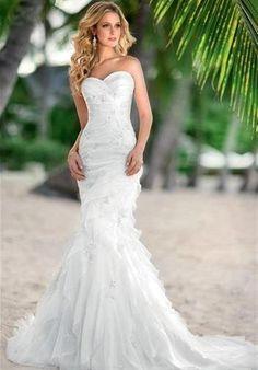 I love this dress for my beach wedding....